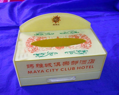 亚克力餐巾盒
